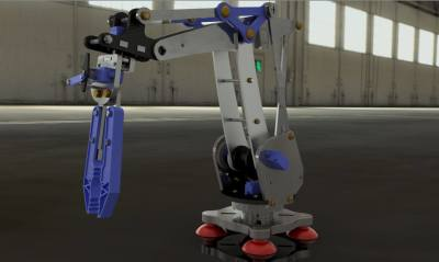 Robotic Arm with Gripper