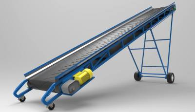 Changeable Incline Conveyor